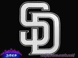 SD (PADRES)ステッカー1