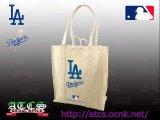 LA Dodgers オーガニックトートバッグ1【official】