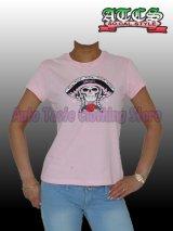 スカル×メキシカンハット×バラ Tシャツ