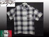 CalTop OGチェック柄半袖シャツ1