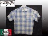 CalTop OGチェック柄半袖シャツ2
