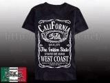 【SALE】Jack Daniel's風 CALIFORNIA Tシャツ