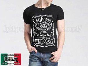 画像2: 【SALE】Jack Daniel's風 CALIFORNIA Tシャツ