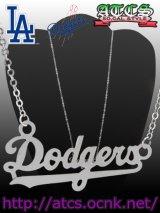 【Dodgers】ネームフレームネックレス【OFFICIAL】
