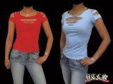 【STRETCH】肌見せ《全5色》《全3サイズ》ジャスト丈Tシャツ