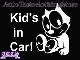 BabyFelix 【Kid's in Car】ステッカー