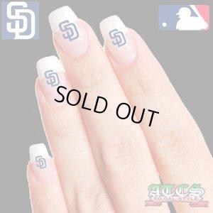 画像1: SD Padresネイルシール【official】