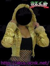 【SALE】☆ふわモコ☆シャーリングジャケット【GOLD】