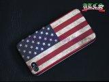 ★セール価格★【【USA】アメリカフラッグ i Phone ケース 4G/4GS