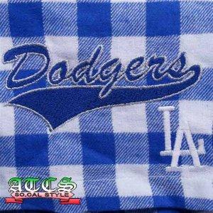 画像2: LA Dodgersチェック柄ショートパンツ2 【official】