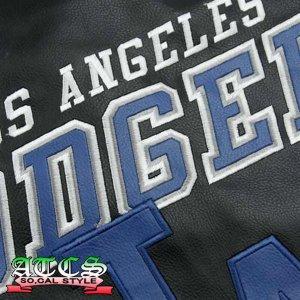 画像4: L.A. Dodgers Post Game Pleather Jacket 1【official】