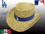 LA DODGERS Cowboy Straw Hat【official】