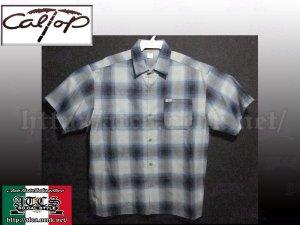 画像1: CalTop OGチェック柄半袖シャツ10