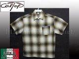 CalTop OGチェック柄半袖シャツ8