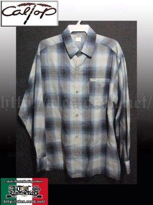 画像1: CalTop OGチェック柄長袖シャツ3