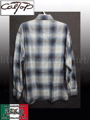 画像2: CalTop OGチェック柄長袖シャツ3