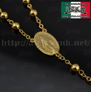 画像3: 【ROSARY】18k gold plated color  ロザリオ2