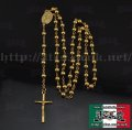 【ROSARY】18k gold plated color  ロザリオ2