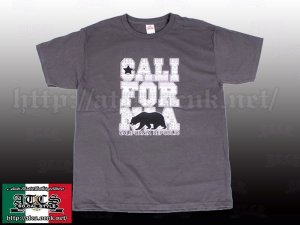 画像1: ネイティブ柄 CALIFORNIA Tシャツ