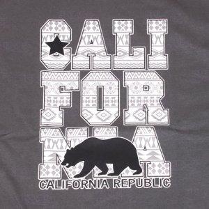 画像2: ネイティブ柄 CALIFORNIA Tシャツ