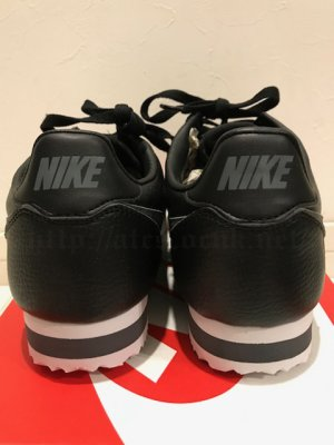 画像4: NIKE CLASSIC CORTEZ LEATHER 黒/グレー