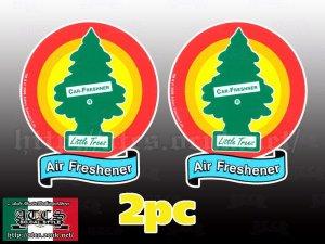 画像1: LIttle Trees 2Pcステッカーセット