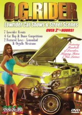 【O.G.RIDER 】 Lowrider Car Shows& Street Scenes DVD