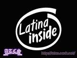 Latina insideステッカー