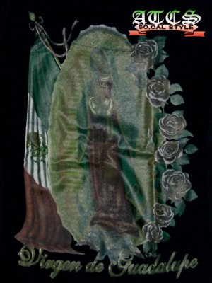画像5: 【MARIA】Mexicoフラッグ×バラ【全2色】【全3サイズ】ロンT
