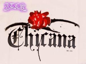 画像3: 【CHICANA】バラ《全2色・全3サイズ》Tシャツ