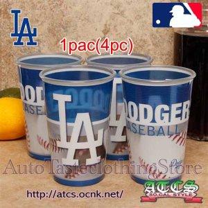 画像1: LA Dodgersカップセット【OFFICIAL】