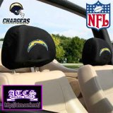 SD CHARGERS ヘッドレストカバー 【official】