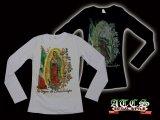 【MARIA】Mexicoフラッグ×バラ【全2色】【全3サイズ】ロンT