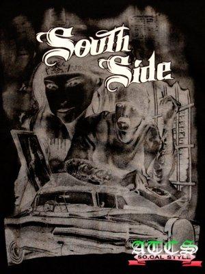画像3: South Side ローライダー【全2色・全3サイズ】ジップアップパーカー/ジップアップフーディー