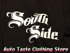 画像5: South Side ローライダー【全2色・全3サイズ】ジップアップパーカー/ジップアップフーディー