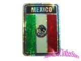 MEXICOフラッグ ステッカー2