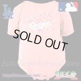 LA DodgersロンパースPINK1【official】