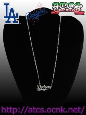 画像3: 【Dodgers】ネームフレームネックレス【OFFICIAL】