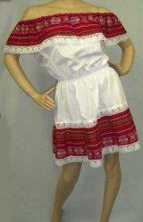 メキシコドレス(サラペ柄)