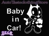 BabyFelix 【Baby in Car】ステッカー