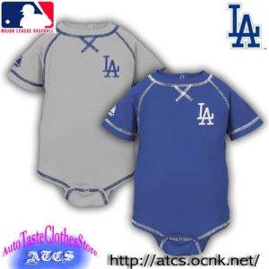 画像1: 【再入荷】LA Dodgers ロンパース【official】