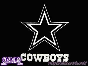 画像1: Cowboysステッカー