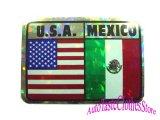 U.S.A&MEXICOステッカー1