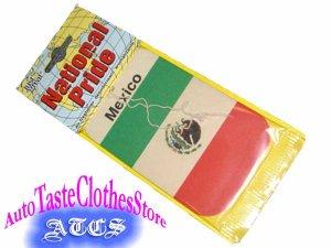 画像1: 【再入荷】MEXICO国旗エアーフレッシュナー