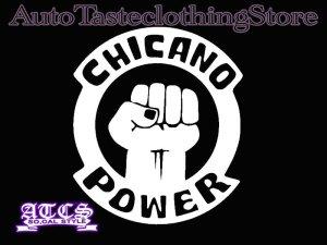 画像1: CHICANO POWERステッカー