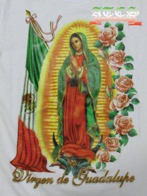 画像4: 【MARIA】Mexicoフラッグ×バラ【全2色】【全3サイズ】ロンT