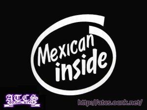 画像1: Mexican insideステッカー