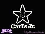 Carl'sJr.ステッカー