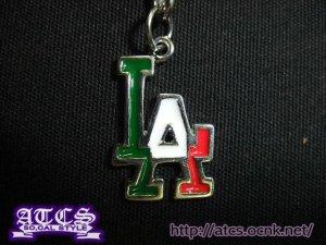 画像1: 【再入荷】LA MEXICOカラーイヤホンジャックストラップ