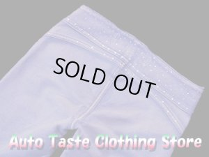 画像4: 【BEVERLY jeans】サイドファスナーがポンント★ポケットレス超やわらかモレトンスキニーパンツ